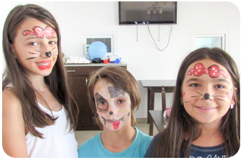 Atelier de Face Painting in Tabara de copii DIstractX