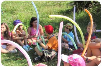 Atelier de Modelaj Baloane in Tabara de copii DIstractX