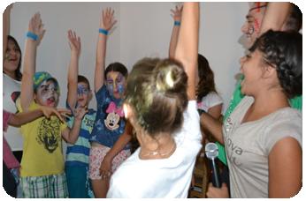 Atelier de Teatru in Tabara de copii DIstractX